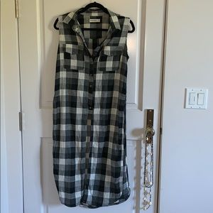 Blank NYC Flannel Top
